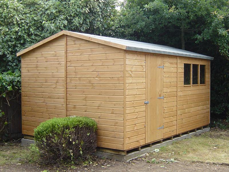 Garden Sheds 12x8 bespoke super apex shed 12 x 8 | surrey shed manufacturer