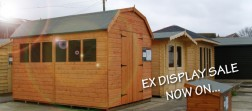 Ex Display Sale - Sheds and Log Cabins