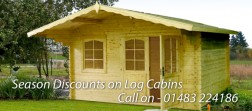 Season Discounts On Log Cabins