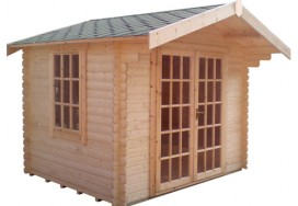 Lotherton Log Cabin Another Angle View
