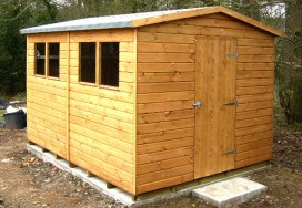 Super Apex Shed 10 x 8