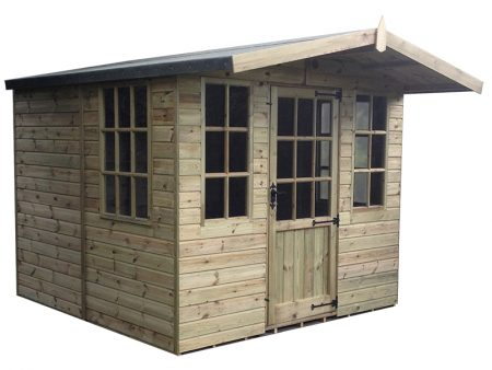 Abinger Summerhouse Shed 6 x 8