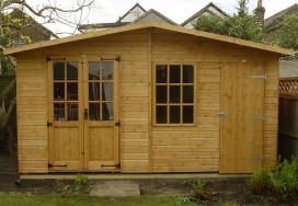 Abinger Summerhouse Shed 6 x 14