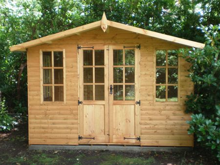 Abinger Summerhouse Shed 8 x 10