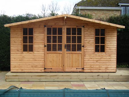Abinger Summerhouse Shed 8 x 14