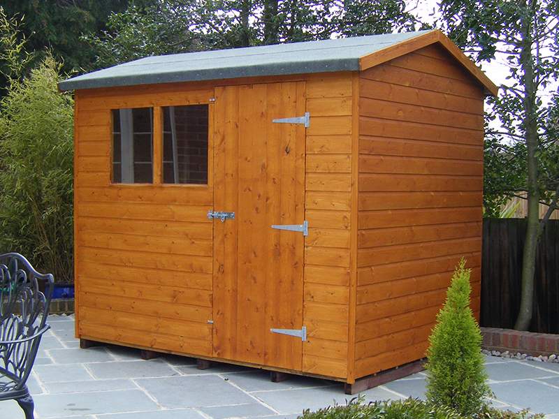 bespoke super apex shed 7 x 5 surrey shed manufacturer
