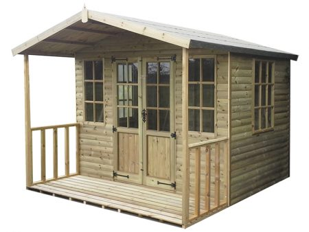 Chilworth Summerhouse Shed 8 x 8