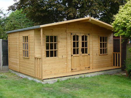Chilworth Summerhouse Shed 10 x 14