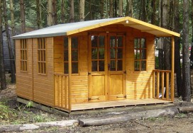 Chilworth Summerhouse Shed 10 x 10