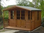 Chilworth Summerhouse Shed 8 x 10