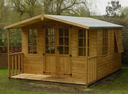 Chilworth Summerhouse Shed 8 x 12