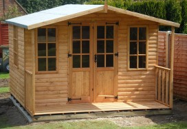 Chilworth Summerhouse Shed 8 x 14