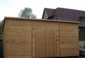 Super Pent Shed 16 x 12