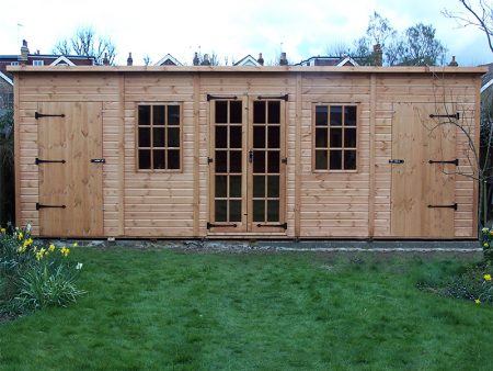 Super Pent Shed 18 x 12