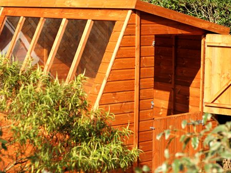 Solar Potting Shed 10 x 5