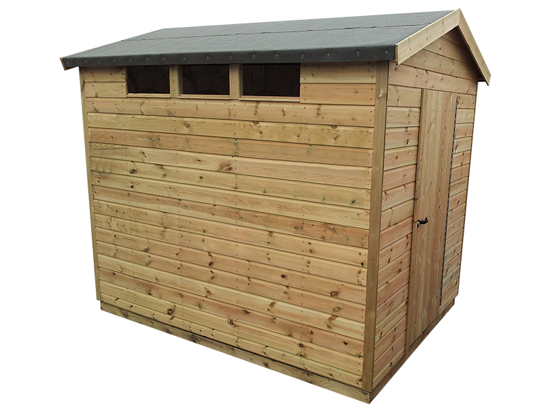 Security shed 10 x 8 surrey shed manufacturer for Garden shed security