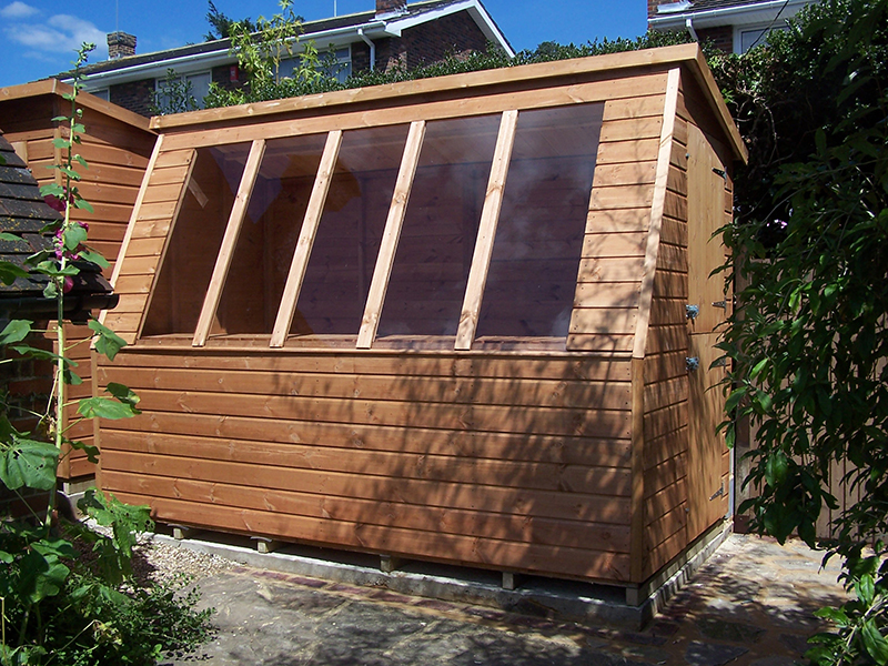 Titan blog surrey shed manufacturer based in ripley for Buy potting shed