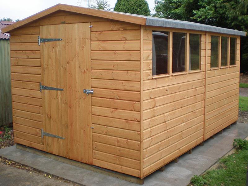 super apex shed 14 x 8 - Garden Sheds 8 X 14