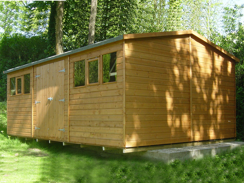 Super Apex Shed 20 X 10 Surrey Shed Manufacturer Based