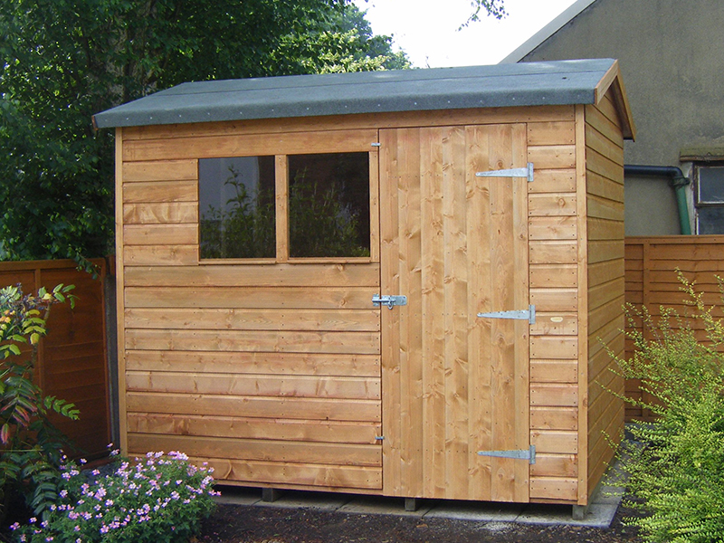 Garden sheds 8x6 garden ftempo for Garden shed 8x6