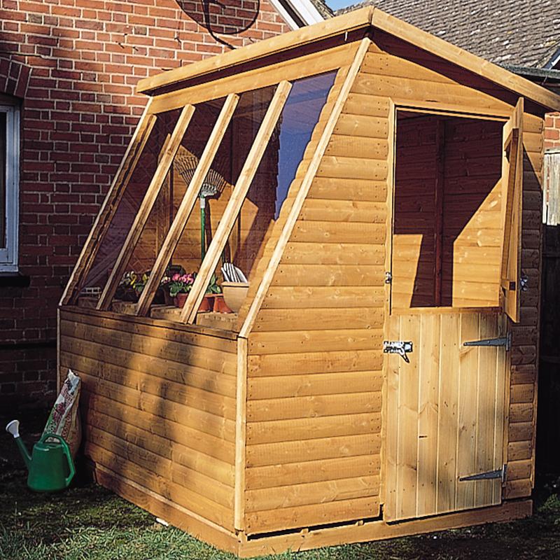 Solar potting shed 8 x 6 surrey shed manufacturer for Versatile sheds prices