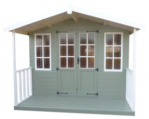 Garden Sheds Painted