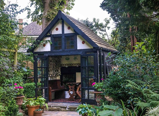 Rise of the SHE shed - The Gothic Retreat Shed from Wolverhampton