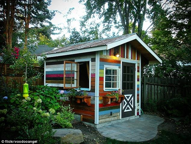 kooky garden shed