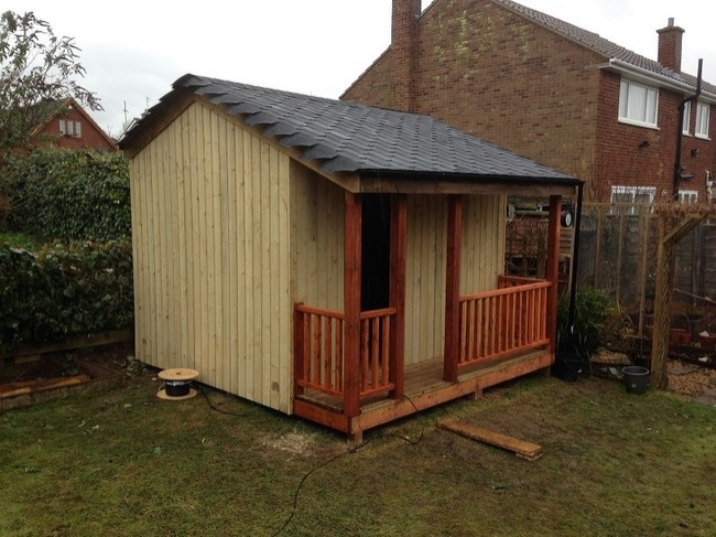Untreated Shed