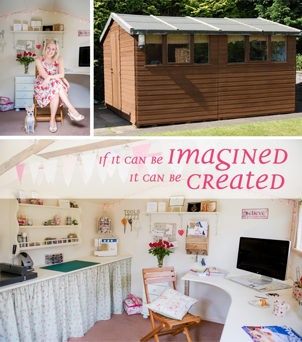 Home Office - In The Shed