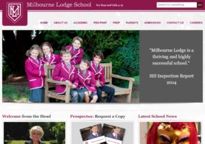 Milbourne Lodge school home page