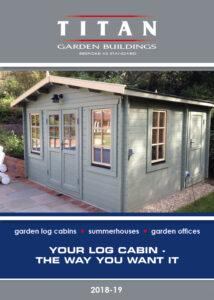 Titan Log Cabin Price List